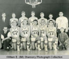 Wildrose Roses basketball team portrait