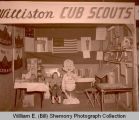 Williston Cub Scouts display, N.D.
