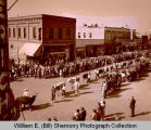 Fall Festival 1947, 4-H parade, Williston, N.D.