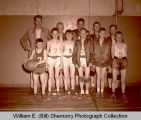4-H basketball tournament, Williston, N.D.
