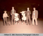 Fall Festival 1947, 4-H kids get ready, Williston, N.D.