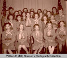 Girl Scout Troop portrait