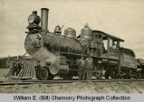 Wild Cow Railroad, Guthrie & Riley, railroad construction contractors, with standard gauge steam locomotives,