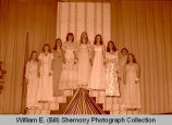 Oil Princess Pageant contestants , N.D.