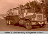Williston's 25th Anniversary of Oil Discovery Celebration, Big M Oilfield Service Inc. truck, N.D.