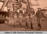 Williston's 25th Anniversary of Oil Discovery Celebration, American Legion marching band, N.D.