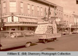 Williston's 25th Anniversary of Oil Discovery Celebration, Buffalo Trails Museum float, N.D.