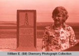 Williston's 25th Anniversary of Oil Discovery Celebration, Tioga monument, N.D.