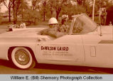 Williston's 25th Anniversary of Oil Discovery Celebration, Dr. Laird in parade, N.D.