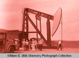 Williston's 25th Anniversary of Oil Discovery Celebration, oil rig site, N.D.
