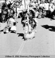 Band Day parade 1977, dancer, Williston, N.D.