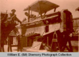 WWI airplane maintenance