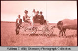 Group in Wagon, N.D.