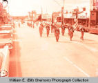 Williston American Legion in parade, Williston, N.D.