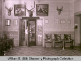 Great Northern Hotel lobby, Williston, N.D.