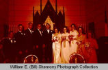 Johnson-Stenehjem wedding, Williston, N.D.