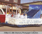 Tioga Farm Festival 1984, float, N.D.