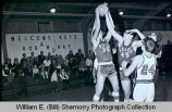 Wildrose Roses versus Alamo Greenwave, Upper Missouri Valley Basketball Tournament, Trenton, N.D.