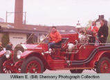 Band Day parade 1998, 1919 Williston Fire Department truck, N.D.