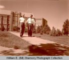 William E. (Bill) Shemorry and Art Hedge at Dickinson State College, N.D.