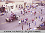 Band Day parade 1981, Williston, N.D.