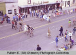 Band Day parade 1981, Ramona's School of Dance, Williston, N.D.