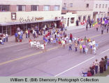 Band Day Parade 1981, Dance School, Williston, N.D.