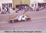 Band Day Parade 1981, royalty, Williston, N.D.