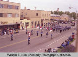 Band Day Parade 1981, marching band, Williston, N.D.