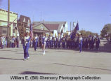 Tioga Farm Festival 1980, Tioga High School marching band, Tioga, N.D.