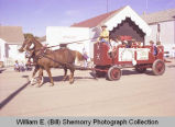 Tioga Farm Festival 1980, White Earth Saddle Club float, N.D.