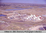 Westland Oil Company Refinery 1981 aerial photograph, Williston, N.D.