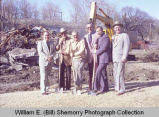 Elks ground breaking, Williston, N.D.