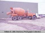 Williston Ready Mix cement truck, N.D.