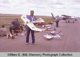 Sloulin Field International Airport rededication and air show, enthusiasts, N.D.