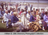 Sloulin Field International Airport rededication and air show, spectators, N.D.
