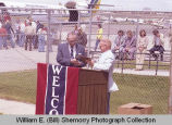 Sloulin Field International Airport rededication and air show, Jack. E Daniels receives award, N.D.