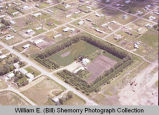 Wegley garden aerial view, Williston, N.D.
