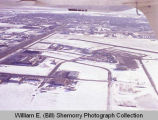 Williston municipal airport aerial photograph, N.D.