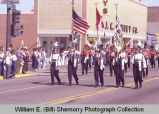 Band Day parade 1984, Williston High School band, Williston, N.D.