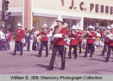 Band Day parade 1984, Canadian marching band, Williston, N.D.