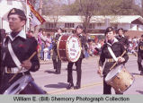 Band Day parade 1984, Regina Army Cadet Band Regt. 3370, Williston, N.D.