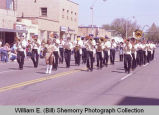 Band Day parade 1984, Devils Lake Elks band, Williston, N.D.