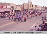 Band Day parade 1983, Drum and Bugle Corps., Williston, N.D.