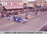 Band Day parade 1983, Bainsville High School marching band, Williston, N.D.