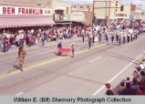 Band Day parade 1983, Buffalo Trails Band, Williston, N.D.