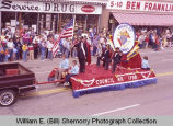 Band Day parade 1983, Knights of Columbus No. 1798, Williston, N.D.