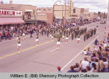 Band Day parade 1983, Shamrock School Dist. 38, Richmond, British Columbia, Canada, marching band, Williston,