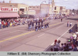 Band Day parade 1983, Fort Buford, Williston, N.D.