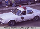 Williston Christmas parade 1983, Williston Police Department, N.D.